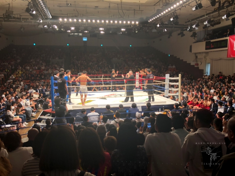 K-1 KRUSH FIGHT.101に出場中の近藤魁成選手