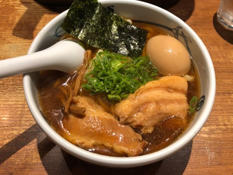 麺屋武蔵のラーメン